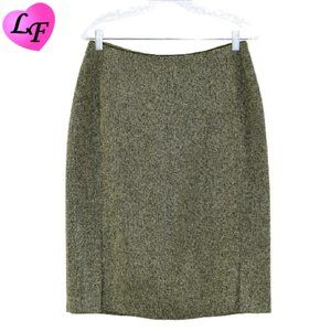 Tweed Skirt with Piped Waist by FOCUS 2000 Size 10